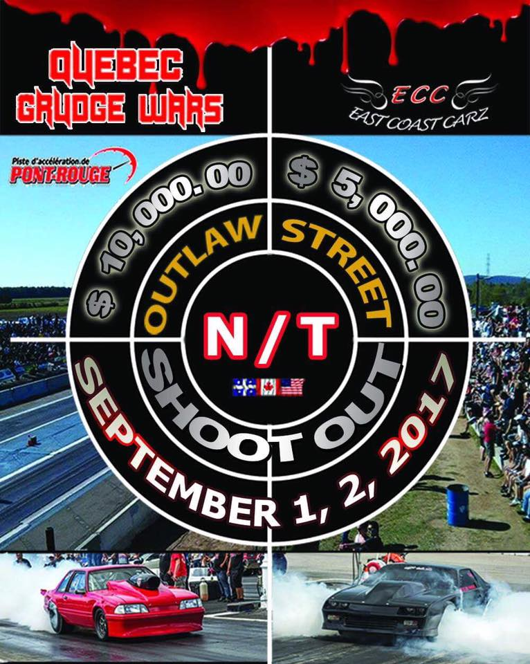 Programme Outlaw Canada vs USA + Super Pro + Pro