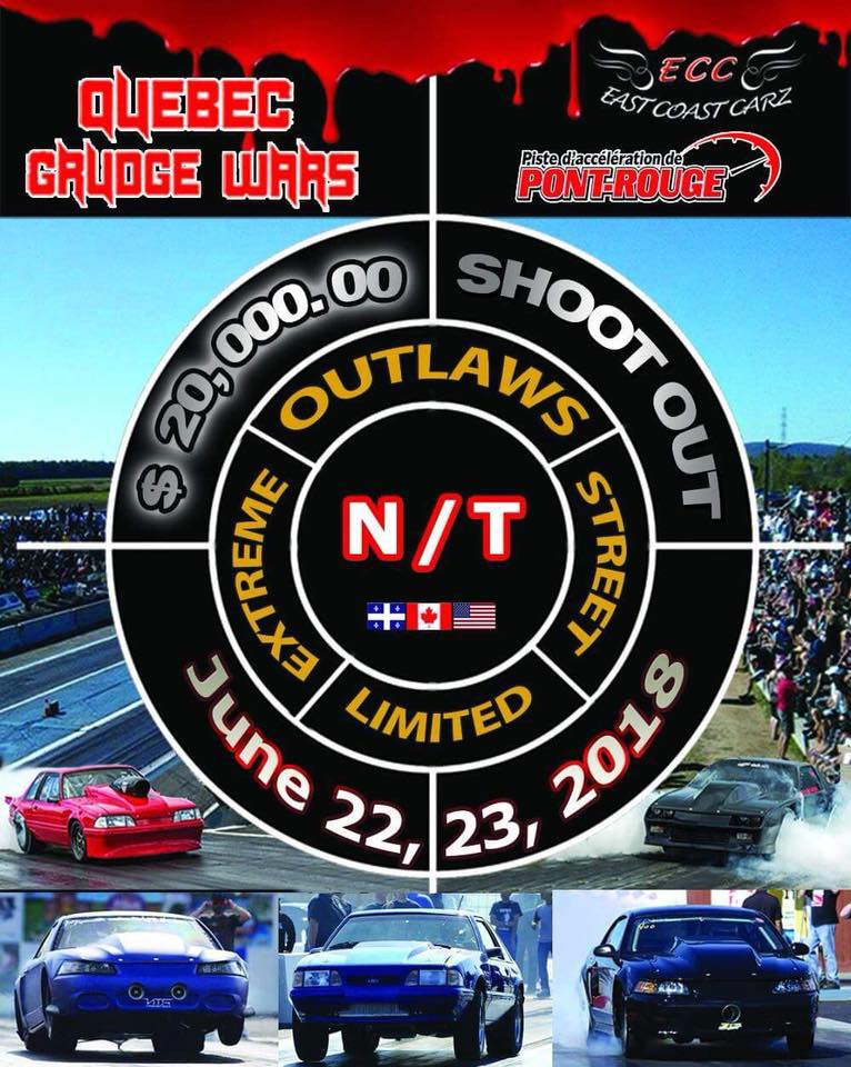 Programme Outlaw + Championnat Brossard Performance Pro M3